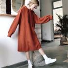 Long Sleeve Hooded Dress