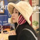 Furry-trim Earflap Bucket Hat
