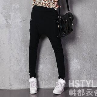 Studded Harem Pants