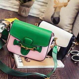 Colour Block Shoulder Bag