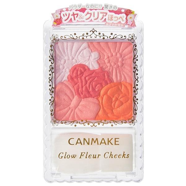 Canmake - Glow Fleur Cheeks (#02 Apricot Fleur) 1 Pc