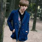 Double-breasted Woolen Jacket