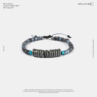 Ethnic Bracelet Black - One Size
