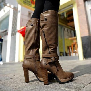 Zip Tall Boots