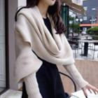 Sleeve Knit Scarf