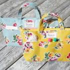 Floral Print Tote Pouch