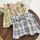 Plaid Lace Trim Camisole