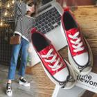 Bow-accent Platform Sneakers