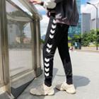 Chevron-trim Jogger Pants