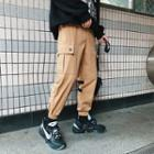 Pocketed Cargo Jogger Pants