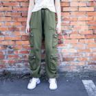 Zip Detail Baggy Pants