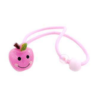 Pretty Glitter Pink Apple Hair Band