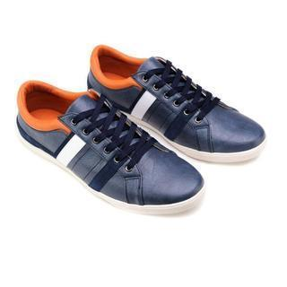 Genuine-leather Sneakers