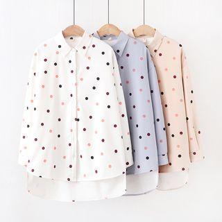 Dotted Dipback Shirt