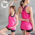 Active Double-layer Workout Tank Top