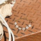 Bead Metallic Bracelet Gold - One Size