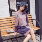 M Lange Sweater Dress