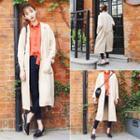 Notch Lapel Long Jacket