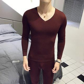 Set: Long-sleeve Top + Tights