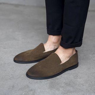 Washed Loafers