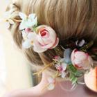 Bridal Flower Hair Clip (2pcs)