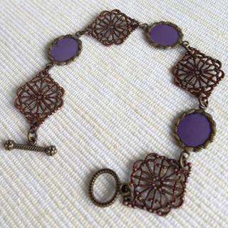 Vintage Prince Bracelet (purple) One Size