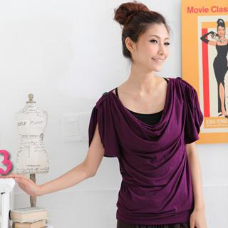 Set: Draped Front Top + Camisole Top