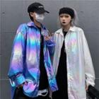 Couple Matching Iridescent Shirt