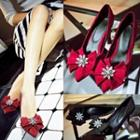 Bow Pointy Pumps
