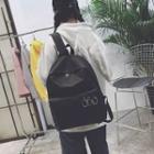 Canvas Hoop-detail Backpack