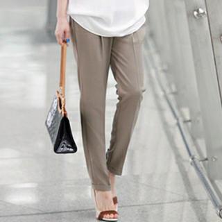 Band-waist Dress Pants