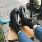 Zip-up Ankle Chelsea Boots