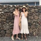 Plain Sleeveless Dress / Plain Shirt