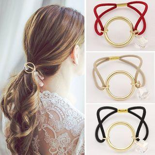Metal Circle Hair Tie