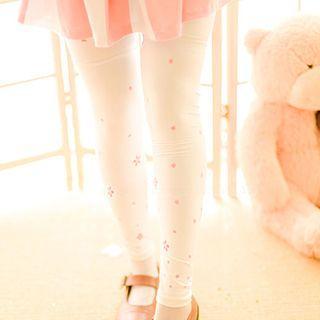 Cherry Blossom Print Leggings