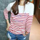 Long Sleeved Striped T-shirt