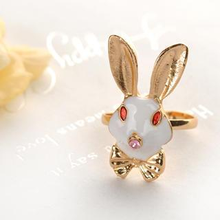 Rabbit Ring  Gold - One Size