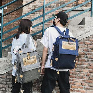 Couple Matching Applique Lightweight Backpack