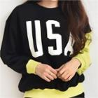 Usa Printed Sweatshirt