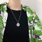 Stainless Steel Tree Pendant Necklace