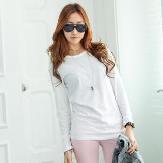 Colored Round-neck T-shirt