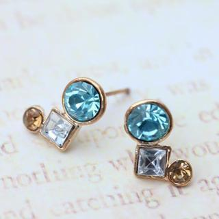 Exquisite Blue Diamond Earrings
