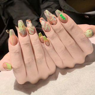 Fluorescent Nail Art Decoration