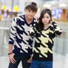 Couple Houndstooth Sweater