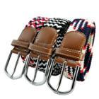 Patterned Woven Belt