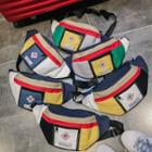 Colored Panel Sling Bag