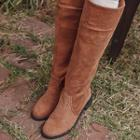 Corduroy Tall Boots