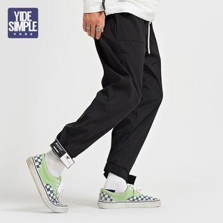 Jogger Pants With Adhesive Tabs