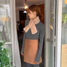 A-line Winter Miniskirt