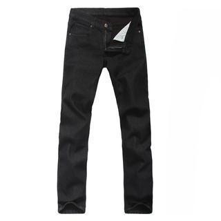 Fleece-lined Slim-fit Jeans